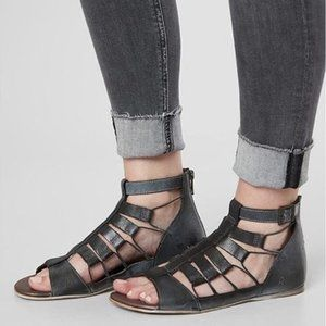 ROAN by BED STU Haze Distressed Strappy Sandal NEW